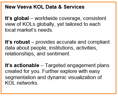 Introducing Global Key Opinion Leader (KOL) Data and Services ... on