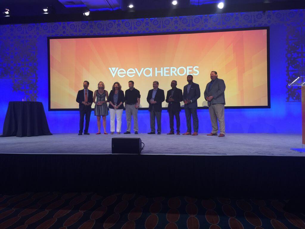 Veeva CEO Peter Gassner honors the 2016 Veeva Heroes